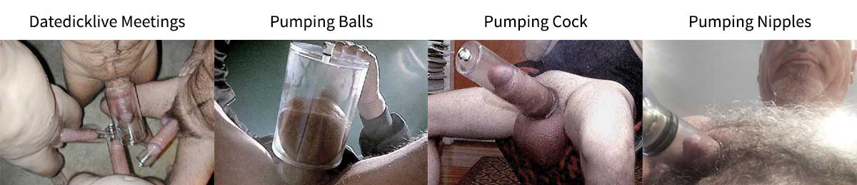 Datedick Cock Balls and Nipple Pumping